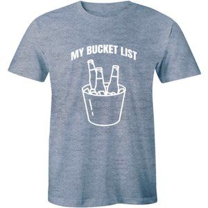 My Bucket List - Cool Drinking Party Men's T-shirt